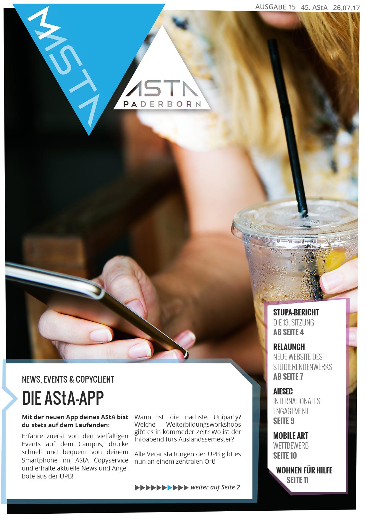 MAStA Ausgabe 15