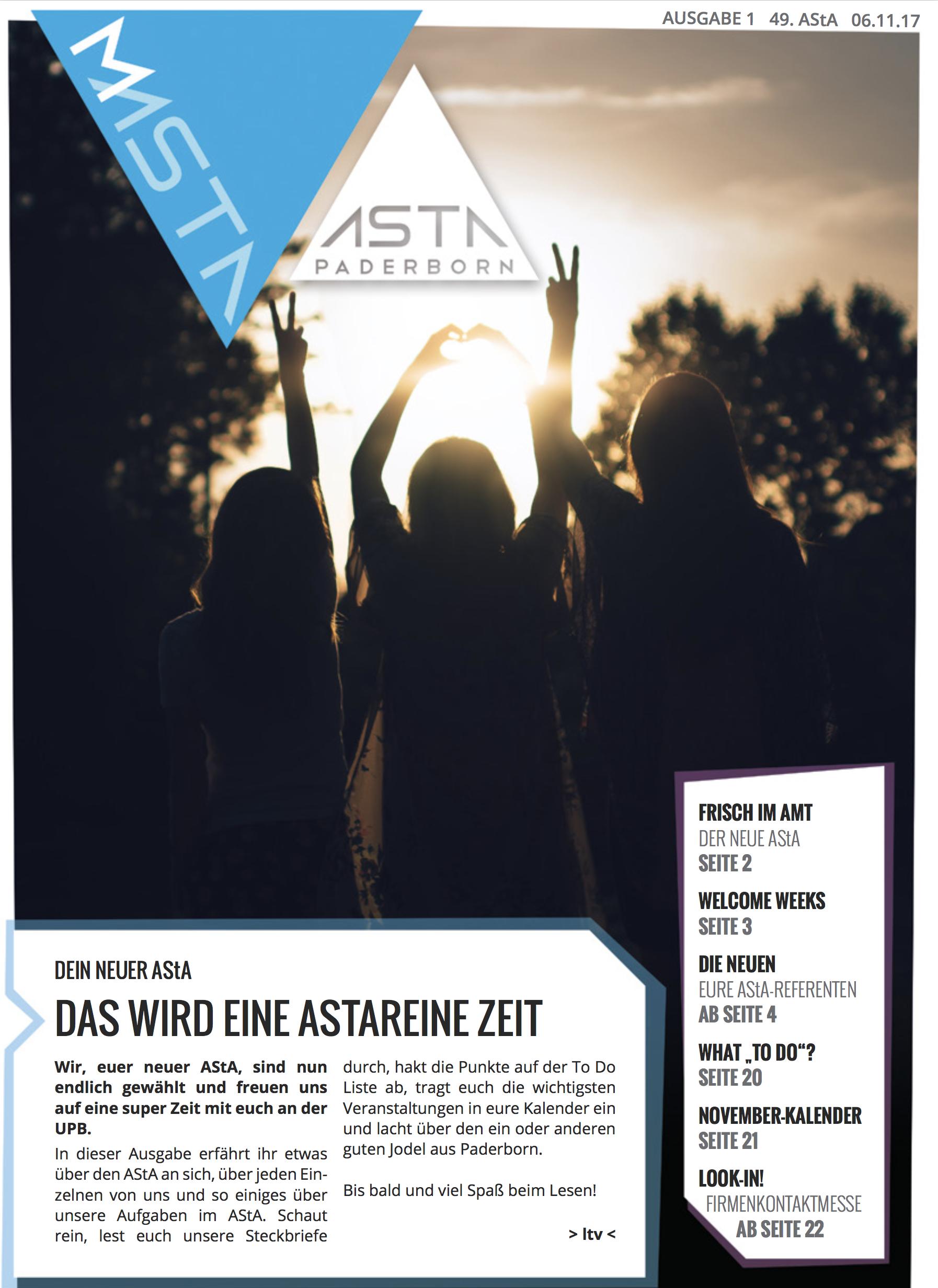 Aktuelle MAStA Ausgabe
